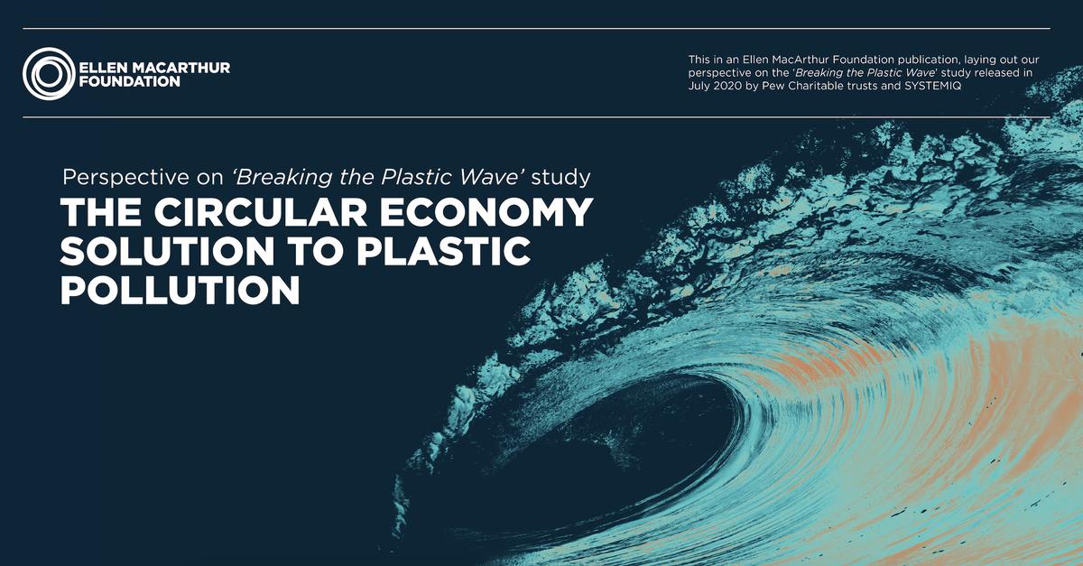 """Spannende Studie zu Maßnahmen, um den Plastikeintrags in die Meere zu reduzieren. Einige bringen sogar """"co-benefits"""": So kann eine ausgebaute Kreislaufwirtschaft ca. 700.000 neue Arbeitsplätze bis 2040 in Ländern mit niedrigen u. mittleren Einkommen schaffen."""