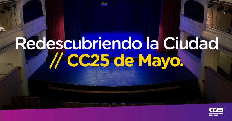 Conocé la historia del @CC25deMayo y su larga trayectoria en el barrio de #VillaUrquiza 📲https://t.co/7Cle8Tf9TL Vas a descubrir este mítico espacio cultural, recuperado también como punto de encuentro y participación para vecinos y vecinas de la Ciudad. #BAParticipa 👨🏾💻👩🏼🦱 https://t.co/EeEZTJgHzY
