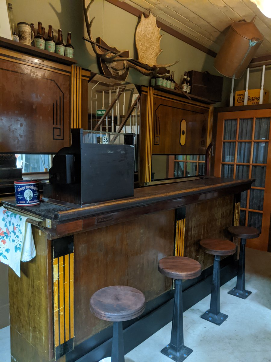 It's #nationalrefreshmentday! While we can't actually serve you from our saloon, we definitely think it's worth a visit. #mnmuseum #paynesville https://t.co/0XHfXh4NDK