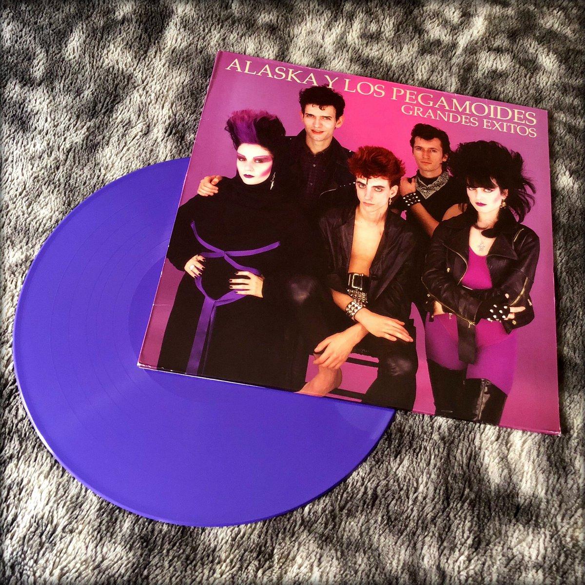 Alaska Y Los Pegamoides - Grandes Éxitos - 1982  #alaska #alaskaylospegamoides #grandesexitos #vinyl #purplevinyl #coloredvinyl #colouredvinyl #vinylcollection #myvinylcollection #ilovevinyl #music #ilovemusicpic.twitter.com/9mBp8ILrKX