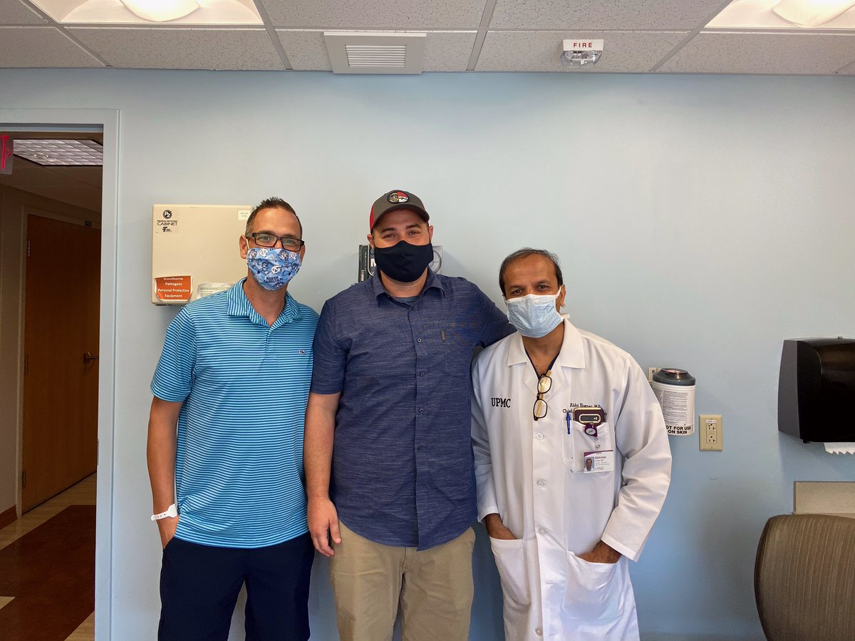 Upmc On Twitter Living Donor Liver Transplant Recipient Donor Josh Brandon W Upmc S Transplant Chief Dr Humar Josh Was Diagnosed W Stage 4 Colon Cancer Liver Metastases Needed A Transplant