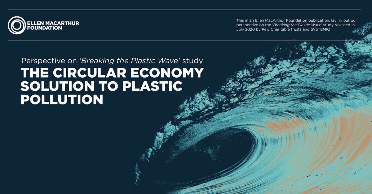 Recycling is important but it's not enough. According to the #BreakingThePlasticWave study, substituting fossil-based plastic with renewable, fiber-based alternatives is one of the systemic changes needed to curb ocean plastic pollution. 🌲♻️ #whatatreecando https://t.co/lZHTPeeCqs