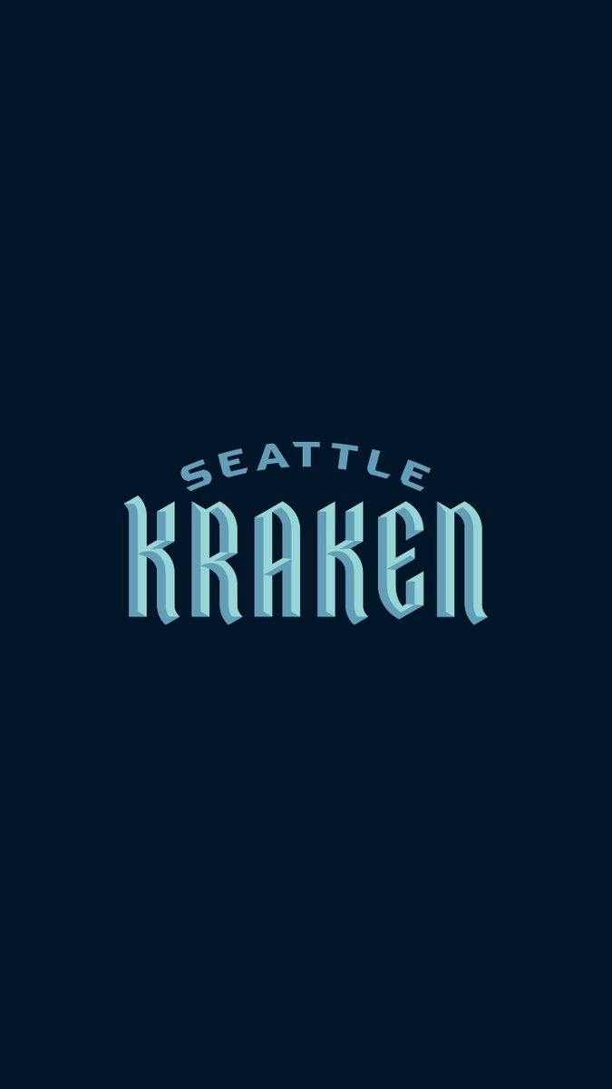 Seattle Kraken On Twitter Release The Kraken Onto Your Phone Desktop Or Zoom Background With These Wallpapers