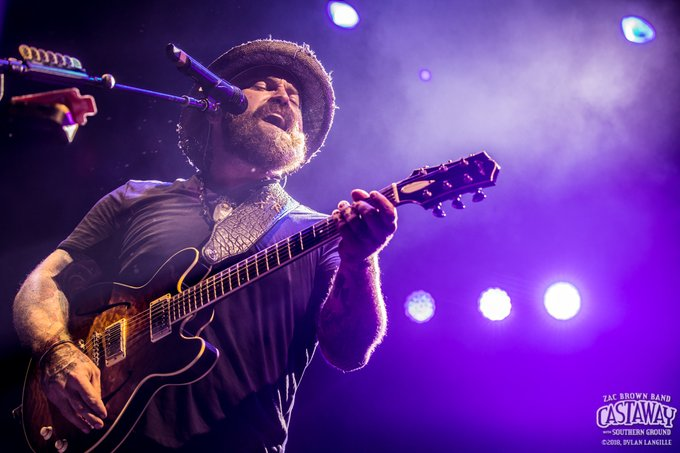 Happy Birthday to the incomparable Zac Brown! Cheers to another trip around the sun  we miss you <3