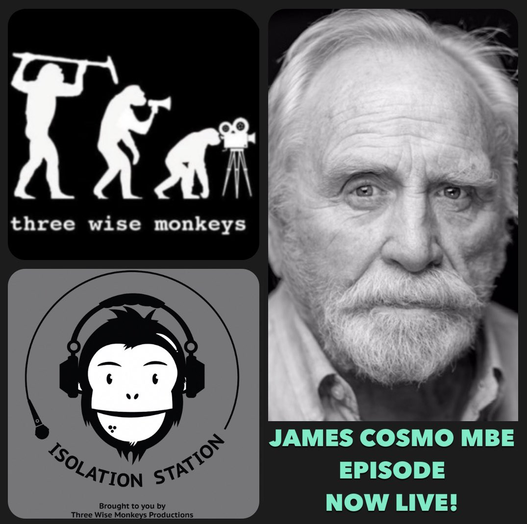 EPISODE 4 of Roll, Sound..Action is now live! This weeks guest is the wonderful actor @MrJamesCosmo 🤩 Available in all the usual podcast places @spreaker @Spotify @iTunes api.spreaker.com/v2/episodes/39… #Actor #MBE #GoT #Narnia #Braveheart #podcast #podernfamily