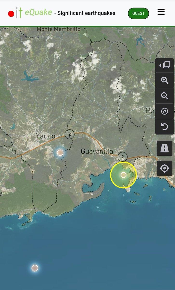 Informe de actividad sísmica significativa para hoy 200723 950pm. Hasta el momento registramos 3 eventos, 1 sobre tierra. En tiempos de crisis estamos #ContigoTodoElCamino. @adamonzon @TemblorPR @NMEADprpic.twitter.com/bm1znr8kv7