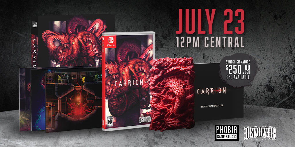 Specialreservegames On Twitter Our Carrion Signature Edition A