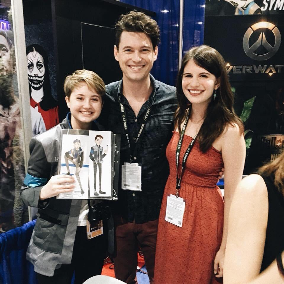 2 years ago today I met @BryanDechart and @AmeliaRBlaire for the first time! They're the absolute coolest  really missing #SDCC! #ConnorArmy #ComicCon #SDCC2018 #BryanDechart #AmeliaRoseBlaire pic.twitter.com/UJOnaDvd48