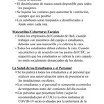 Image for the Tweet beginning: Spanish Back To School Guidelines!