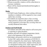 Image for the Tweet beginning: English Back To School Guidelines!