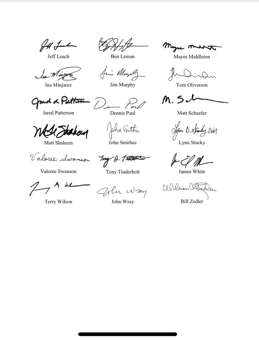 Proud to join so many of my #txlege colleagues in this letter. Thank you @Scott_SanfordTX @electcharles for your leadership