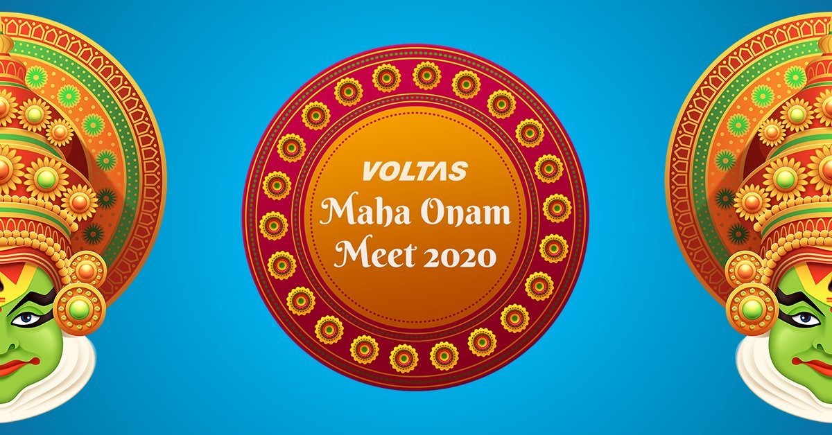 Presenting Voltas Maha Onam Meet 2020: https://t.co/humXelFno7 https://t.co/C32NjobCJ2