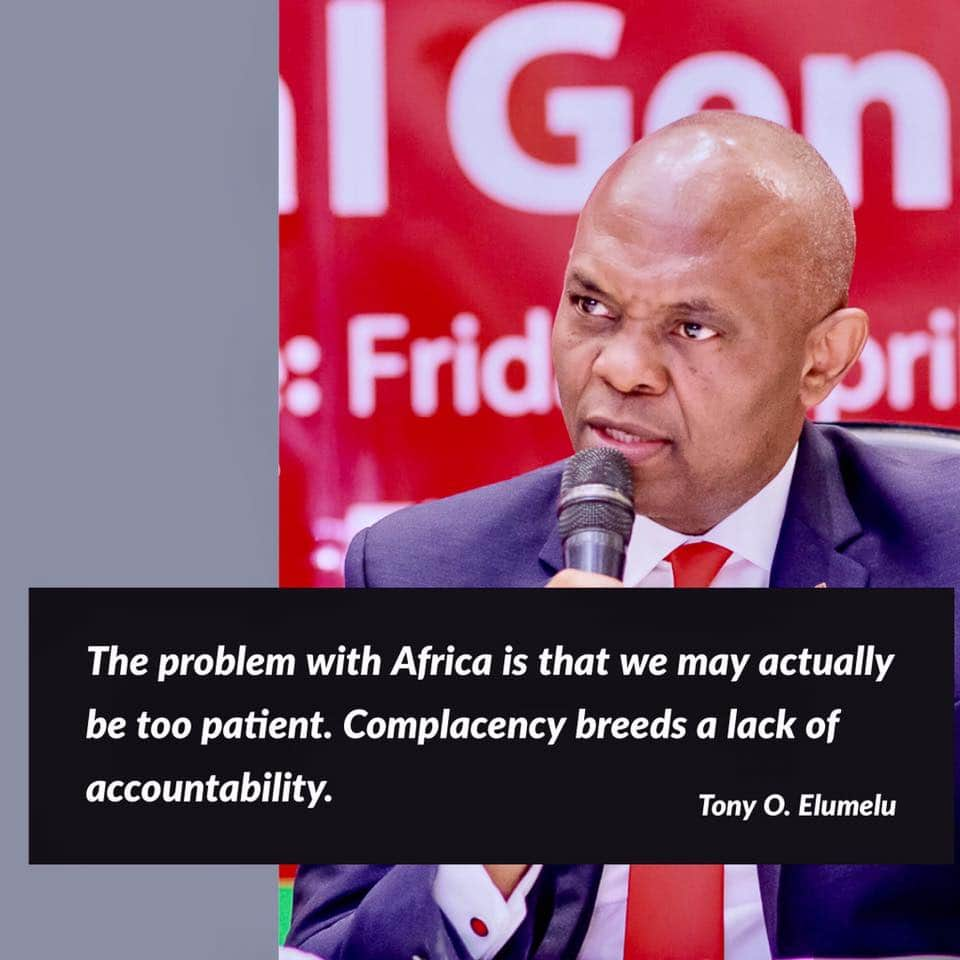...patience is a virtue, but in Africa are we too patient?  #TonyElumelu https://t.co/5vD6eMdUeV