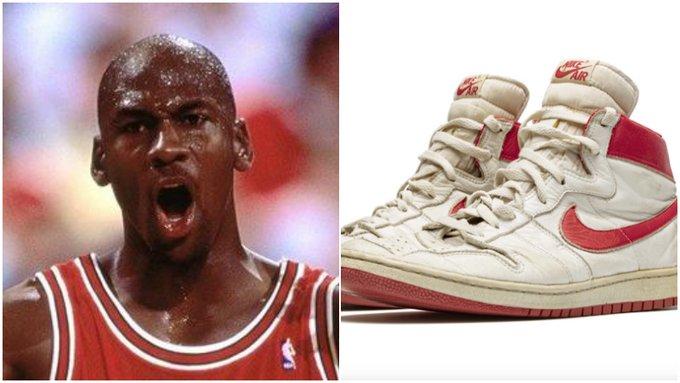 天價!喬丹1985年球鞋預計將被拍賣出將近85萬美金,名人效應讓人驚歎!