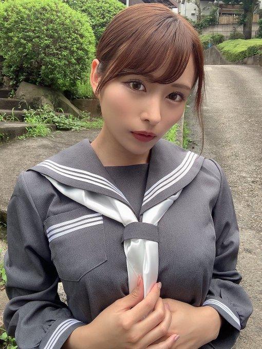 AV女優伊藤舞雪のTwitter自撮りエロ画像1