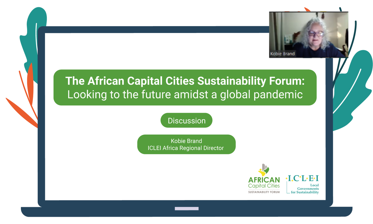Yesterday, 29 capital cities across the continent attended the inaugural African Capital Cities Sustainability Forum meeting. Hosted by @ICLEIAfrica, the 1st of 6 #ACCSF meetings unpacked priorities to deepen #resilience as cities from Cape Town to Rabat recover from #COVID19. https://t.co/cNImJusmrt