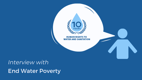 2020 is the year of the friends of the human rights to water and sanitation We are celebrating together through a series of written interviews. See interview with @EndWaterPoverty link.medium.com/nZbBG81nn8