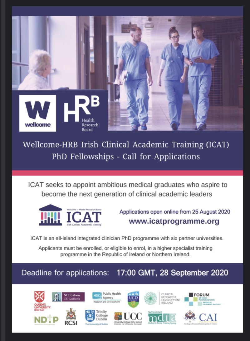 We would love more applications from surgeons - pls also contact us for advice and sign up for webinar on 2nd Sept on our website! https://t.co/aiFiKIQDu3