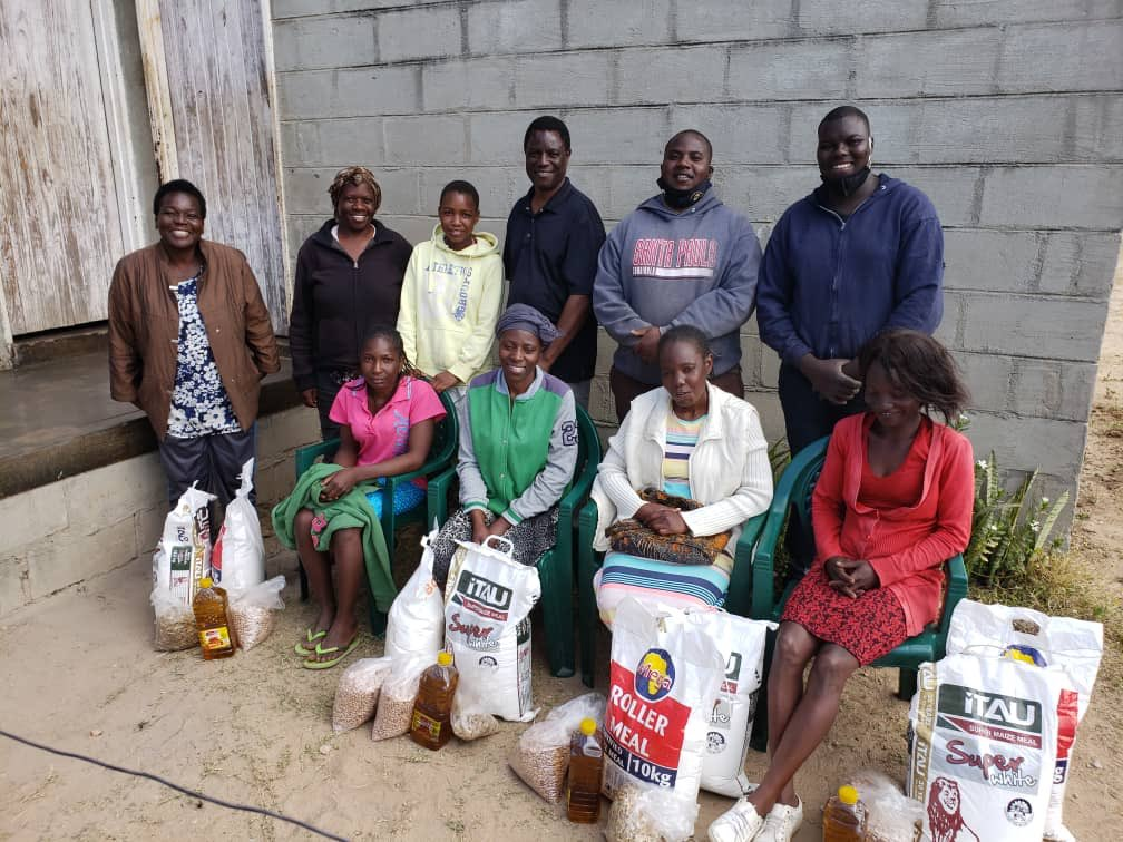 Our ZINASU Spokesperson is running a Humanitarian Project in Manicaland. 23 Families have since been assisted in Dangamvura. It shows how Student Leadership shouldn't be limited within Campus, but also in Society ! The project is aimed at assisting the needy #ZanuPFMustFall