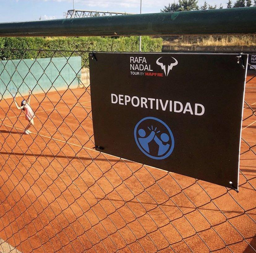 🏆 Rafa Nadal Tour 🏟 @ClubInterTenis  🇪🇸 Madrid  🚺 Sub12 ❌ R3 - Sorana MATIS  🚹 Sub14 ✅ QF - Bryan HERNÁNDEZ  🚺 Sub14 ❌ R3 - Irene FUSTER  📸 #RafaNadalTour https://t.co/qJ9tLj31He