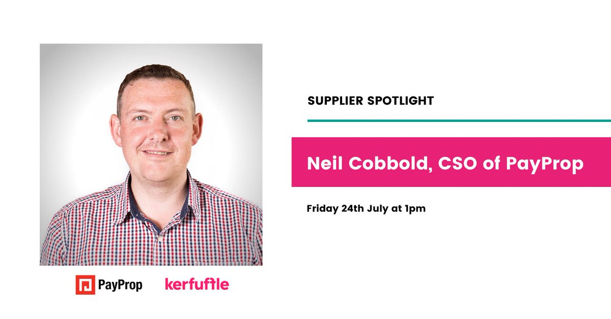 Considering PayProp for your lettings agency? Get your questions answered at today's kerfuffle Supplier Webinar – and find out why our clients have voted us Best in Sector – Payment Services for three years running at the ESTAS! Click below to register: https://t.co/84EJP8P8WN https://t.co/7sK0ePM7Qz