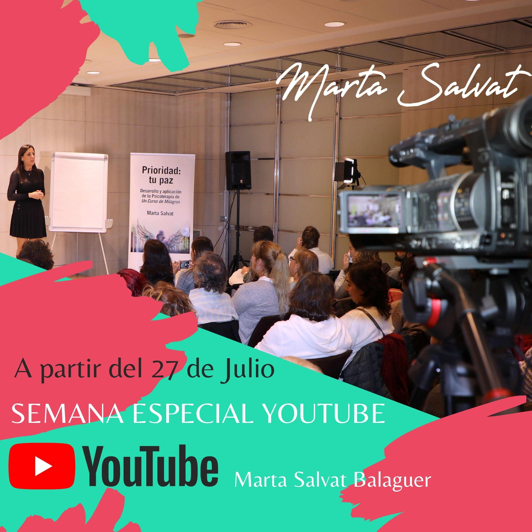 Marta Salvat On Twitter Sorpresa Semana Del 27 De Julio Semana Especial Youtube Un Nuevo Vídeo Cada Día Suscríbete Ya Al Canal De Youtube De Marta Salvat Https T Co Mfjyry0hgi Martasalvat Youtube Video