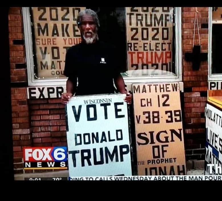 Black Lives Matter Černošský agitátor Trumpa zastřelen v Milwaukee, pokec24