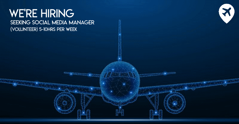 Passionate for Social Media and Marketing? We're hiring a Social Media Manager to join our team! 😊✈  With a 5-12hr weekly commitment this could be the perfect opportunity to join our growing startup!   More information: https://t.co/Okq58tMo7S https://t.co/D1q1XAaf7r