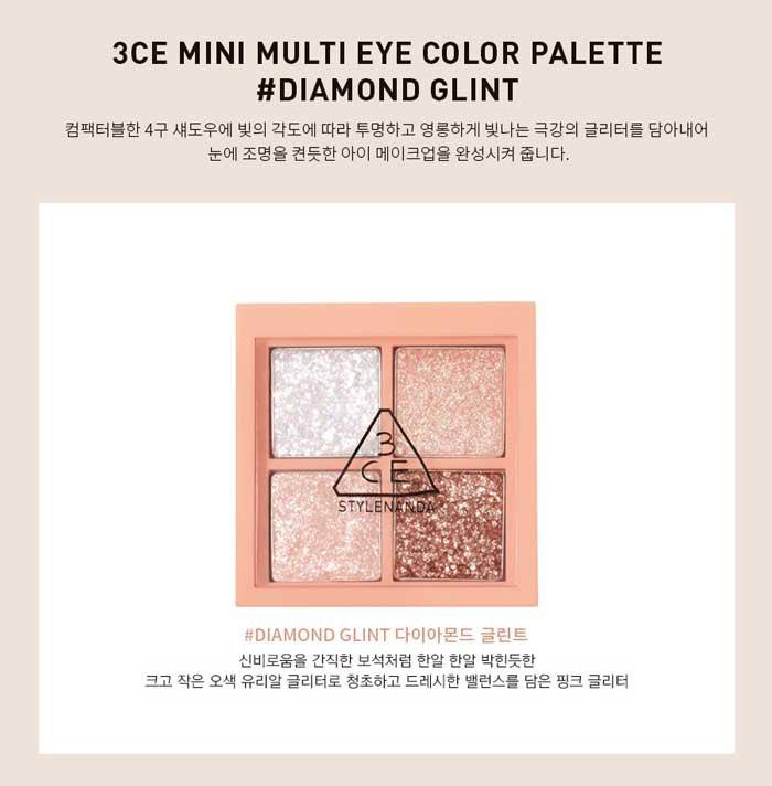 New Arrival 3ce mini eyeshadow #diamondglint For more details plz check ig story#3ce #3ceminimultieyecolorpalette #eyeshadow #kbeauty #koreanmakeup #bestseller #glittereyeshadow #glitter #kbeautylondonpic.twitter.com/EdEEwo3eCk