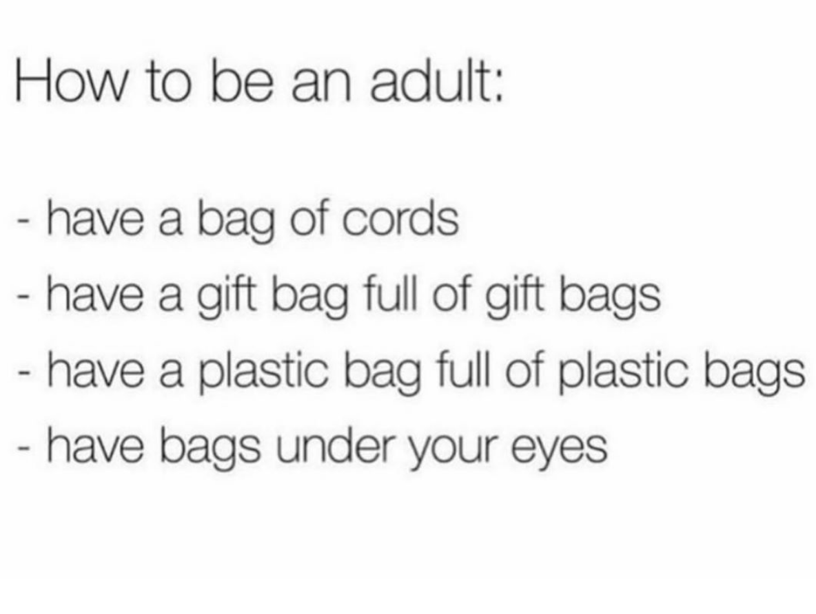 Welcome to your 30s...