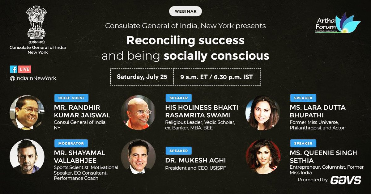 What does success really imply?Who defines whether you are successful or not? Is there a success mantra?What does it take to be happy?? Tune in tomorrow at 6:30 pm ist, as I join other imminent personalities to decode reconciling success! @shayamalv @QueenieSinghh