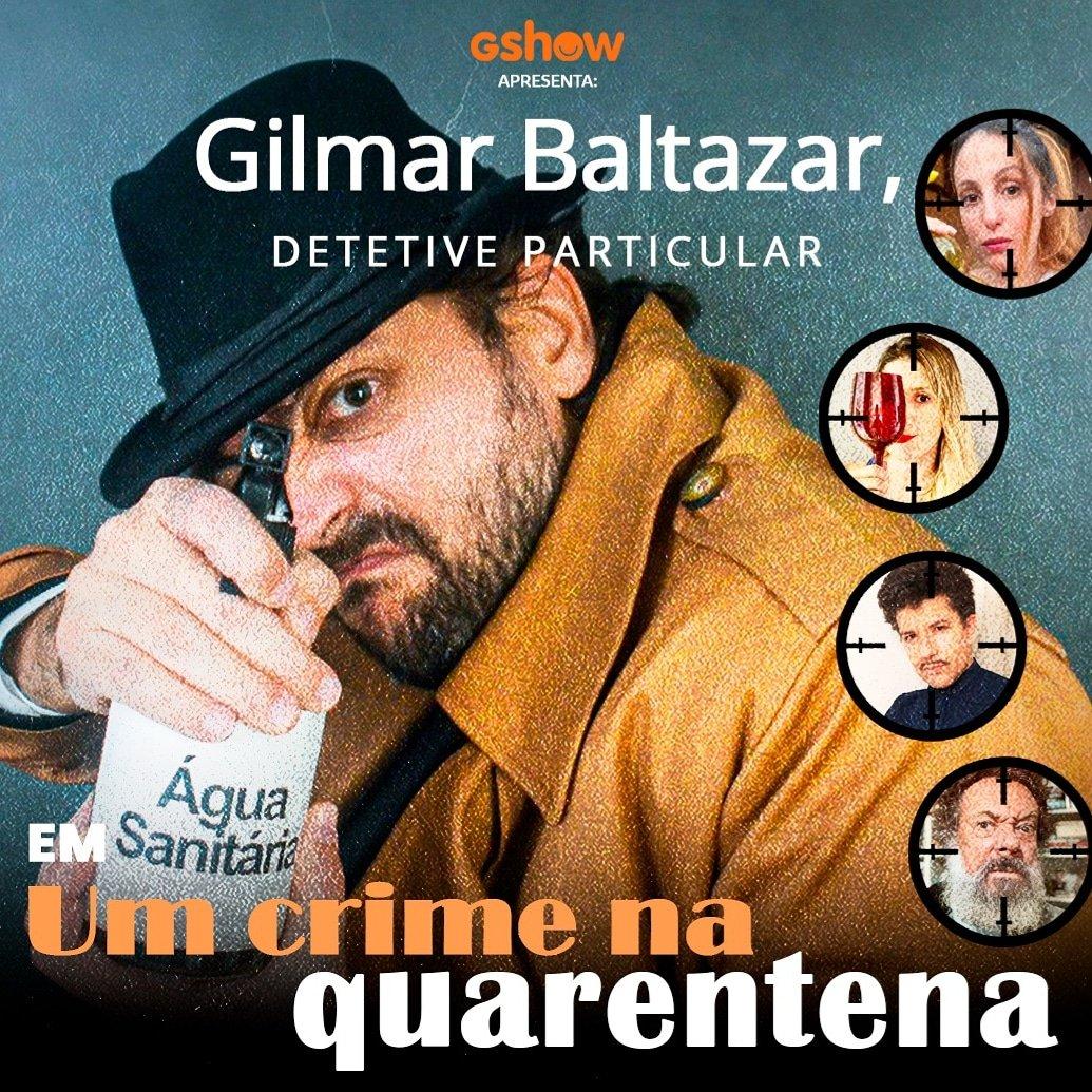 Hoje é a estreia mundial de GILMAR BALTAZAR, DETETIVE PARTICULAR.  Dramaturgia disponível em qualquer tocador de podcast com: @SuperCaruso, @calabresadani, @paulomathiasjr, Luana Martau e Márcio Vito. Editada por mim: @cacofonias