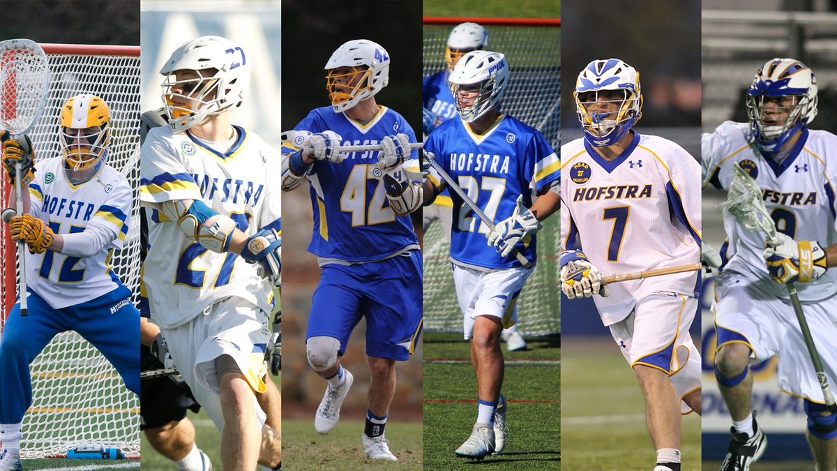 DYK: We have 6⃣ (yes, 𝙎𝙄𝙓❗️)#Hofstra alums suiting up for the 2020 Premier Lacrosse League Championship Series beginning this Saturday!  ⬇️Click below to find out who will be playing in Utah⬇️  https://t.co/GCBESSAhY8  #RoarWithPride #HofstraFamily #PLL https://t.co/gBEtyVO7Cl