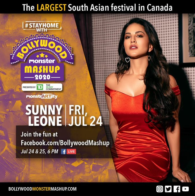 1 pic. #ICYMI: I'll be headlining #StayHome with #BollywoodMonster Mashup, presented by @td_canada, tomorrow