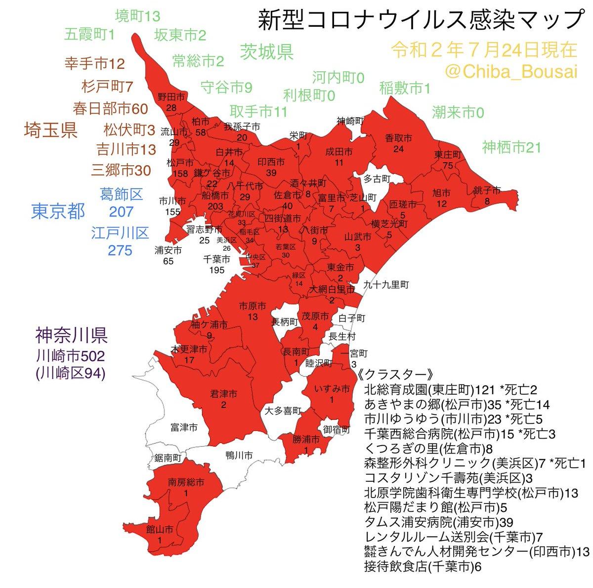 市 コロナ 感染 状況 佐倉