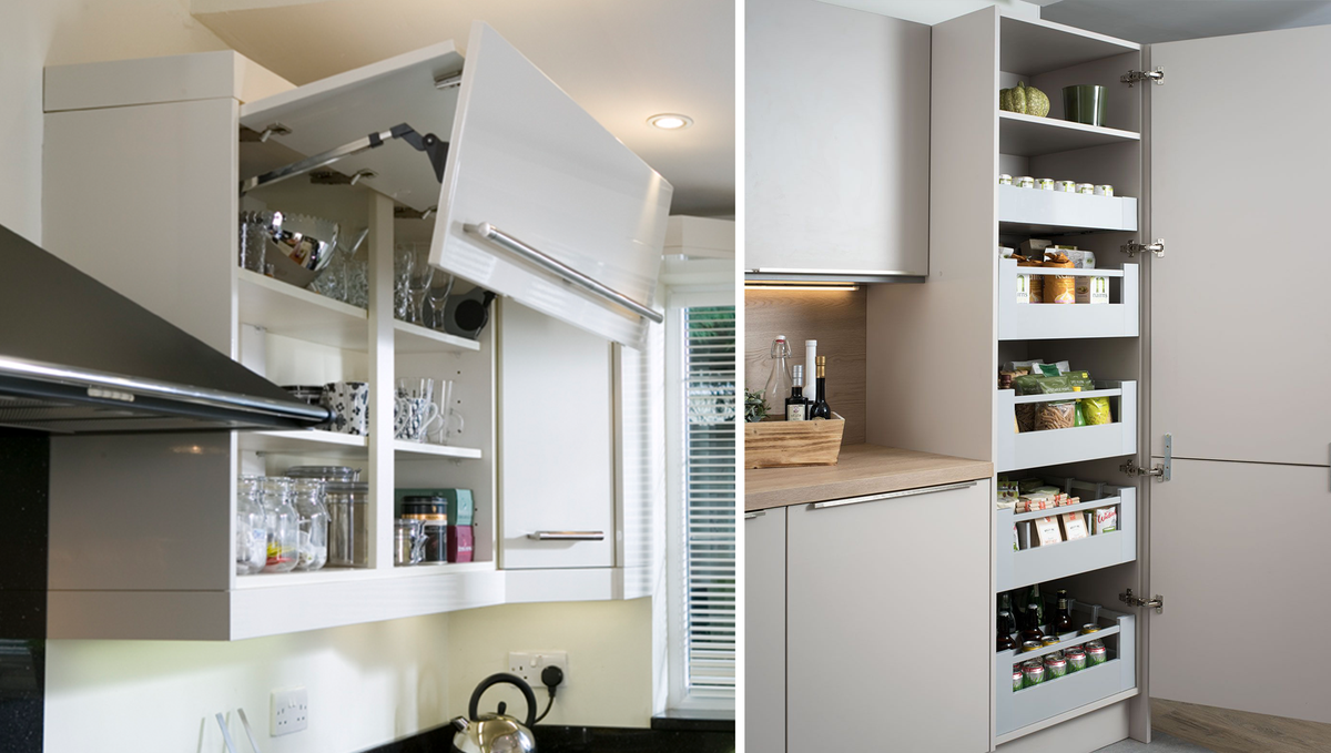 From built-in wine racks to carousels and space towers, we have a whole host of #storage options at Dream Doors. Why not book an appointment to visit your local showroom to talk through options? 👍  You can browse some of our options online: https://t.co/TBFwiHShG2  #kitchen https://t.co/UA4eC6zgje