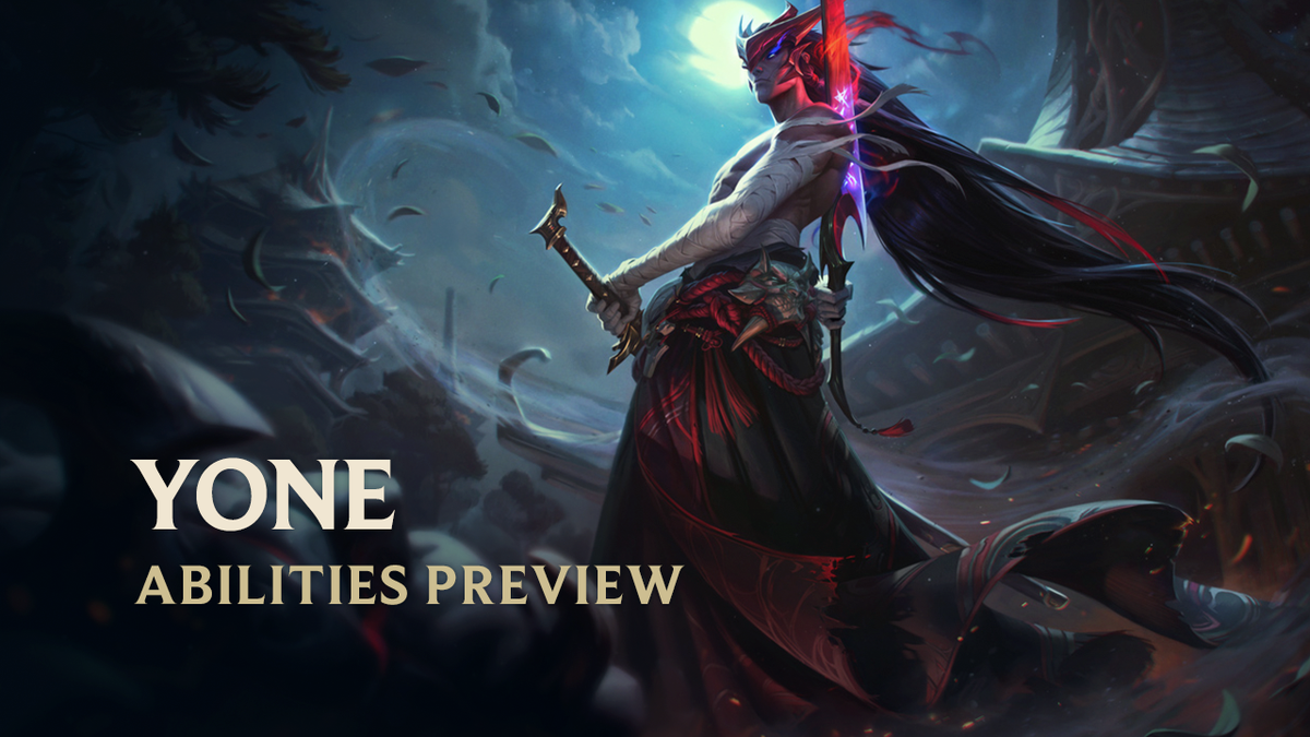 Summoners while you were playing Yasuo, he studied the blades! ⚔ Meet #Yone, your new 0/10 power spike skirmisher-assassin hybrid! 🗡 #LoL