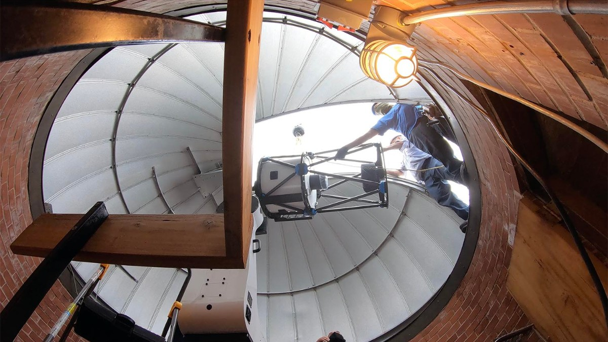 test Twitter Media - PHOTOS: @WesAstro's Van Vleck Observatory is the new home of a state-of-the-art 24-inch telescope: https://t.co/JucVuBMJC7 https://t.co/SMO9SZ1cIV