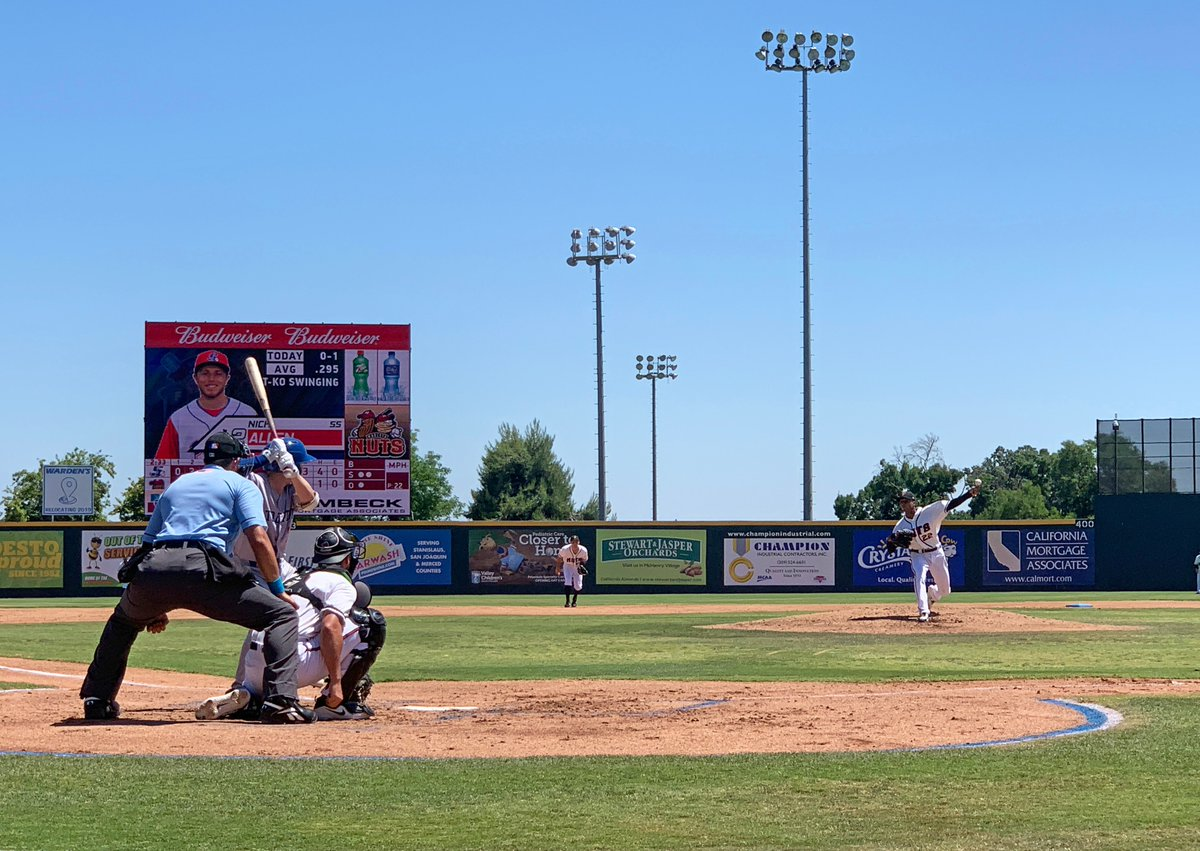 NEW THIS WEEK: On Day 6 of our 2019 California Baseball Road Trip, we had a front-row view of the action between the @ModestoNuts and the @stocktonports. Get the full story, plus photos and video, at mappingthepath.com/day-6-modesto-…