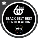 Image for the Tweet beginning: LEAN SIX SIGMA BLACK BELT