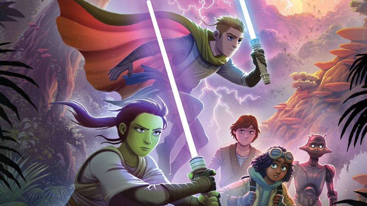 The Art of #GalaxysEdge, The Lightsaber Collection revealed, and more from the #ComicConAtHome Lucasfilm Publishing panel: strw.rs/6002Gw5ek #SDCC