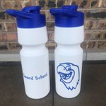 Image for the Tweet beginning: New water bottles = less