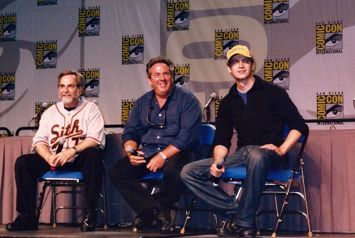 Rancho Obi Wan On Twitter Flashback To Sdcc 2004 When Steve Sansweet Rick Mccallum And Hayden Christensen Revealed To Fans That The Title Of Starwars Episode Iii Would Be Revenge Of The Sith