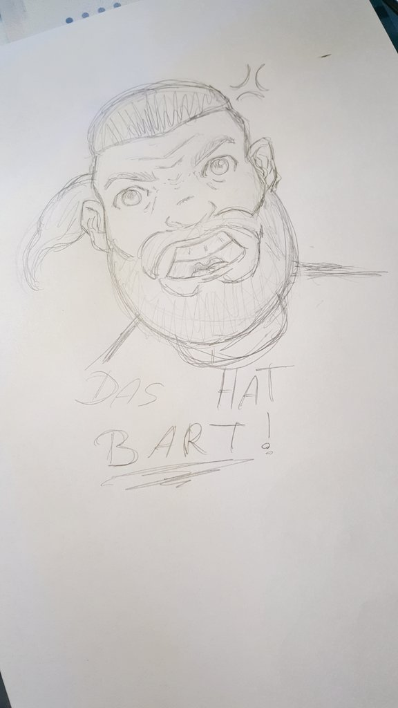 Ey @EddieRhymers, hatte Langeweile, also habe ich mal ne Comicversion von dir in 10 Minuten gezeichnet. Hoffe, es gefällt dir ;) https://t.co/lb3dXtrweG