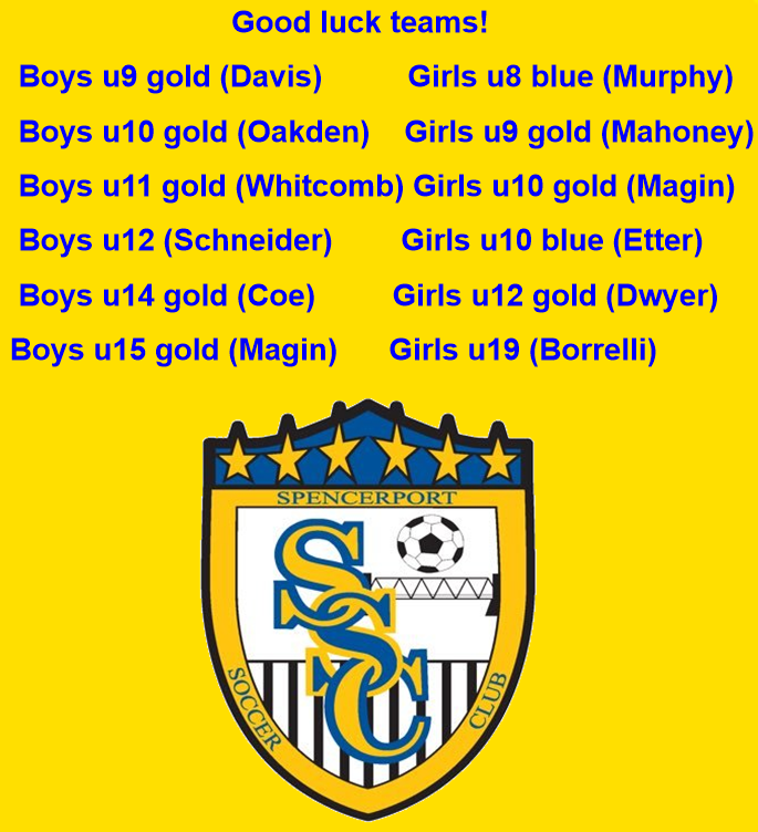 We have TWELVE teams competing in this weekend's Greece United Tournament! You know the drill...we want pictures, win or lose! We love to celebrate our players! Good luck to all! pic.twitter.com/ASpEJIdwbA