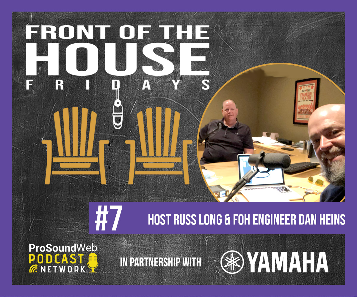 Get to know Dan Heins, @Garth Brooks' FOH engineer and @Clair Solutions Regional VP, and gain insights on his wealth of live sound experience in this week's podcast episode. #prosoundweb #yamaha #yamahaproaudio    https://t.co/KJDQsiofhL https://t.co/mWZptYw5G9