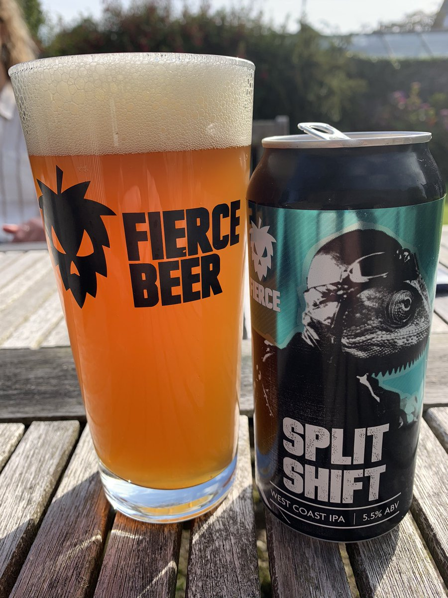 Image for Split Shift straight off the packaging line. Pine, citrus, malty... smashing. https://t.co/T2gov0nw2X