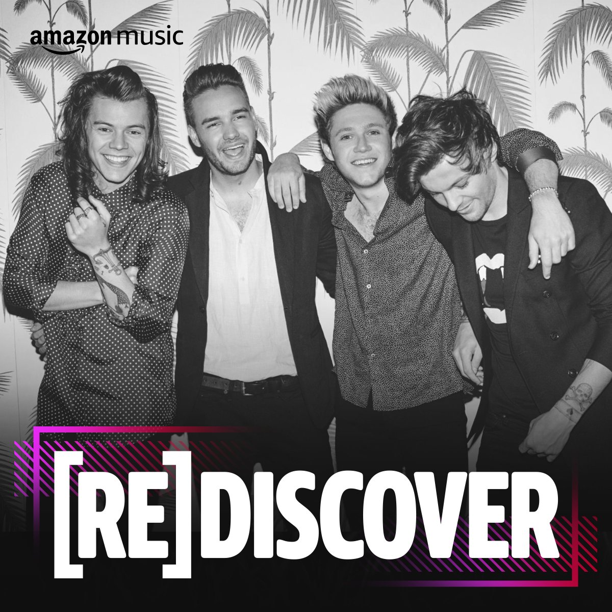 Have you guys seen the brand new (Re)Discover One Direction playlist on @AmazonMusic? https://t.co/XixgdDOkai https://t.co/xOIjxdNlc7