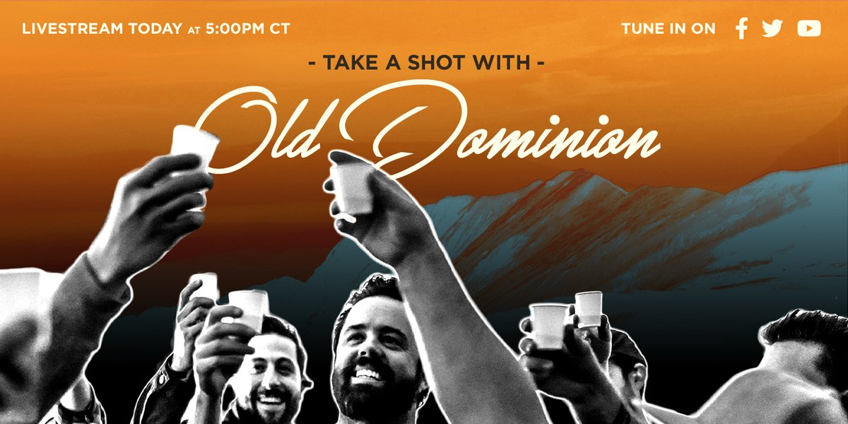 Thought we'd go live today to celebrate #nationaltequiladay. See y'all at 5pm CT on Facebook, Twitter and YouTube. Set a reminder to watch https://t.co/000oSy2l9b #canteranegra #weareolddominion https://t.co/922LvaEvMy