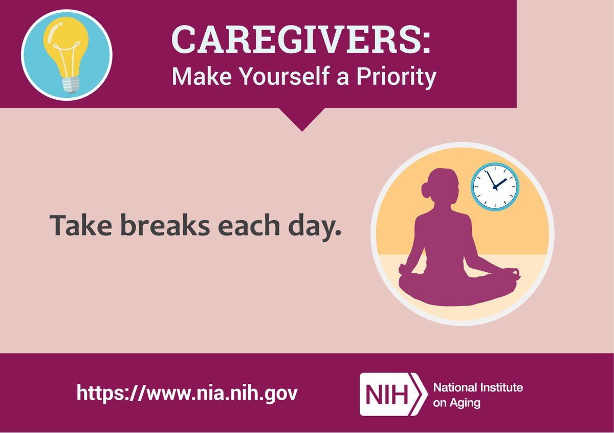Share these#self-care tips with the #caregivers in your life:https://bit.ly/3gYg4OD #DementiaCareSummitpic.twitter.com/5UoDE8thu1